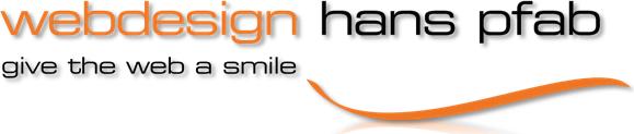 Logo Webdesign Pfab