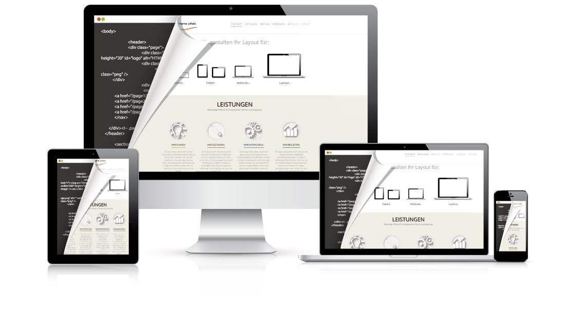 Responsive Webdesign für alle Medien