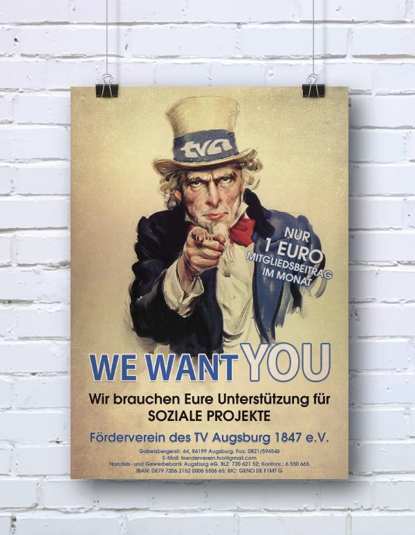 Promotion Plakat TVA Förderverein